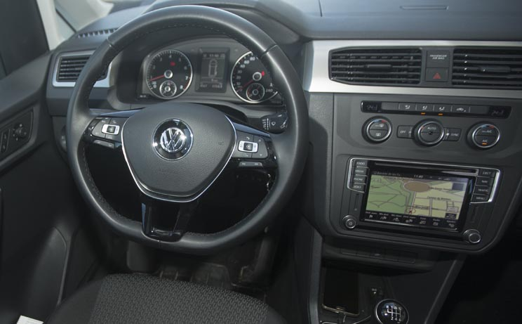 Interior Volkswagen Caddy
