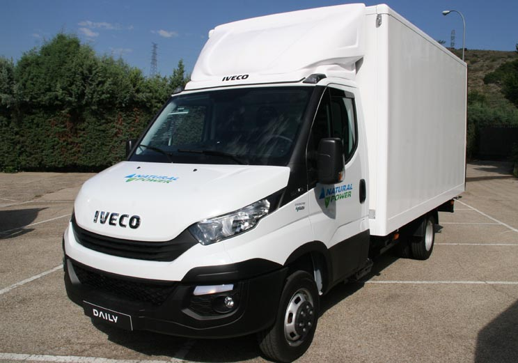 Iveco Daily GNC chasis cabina