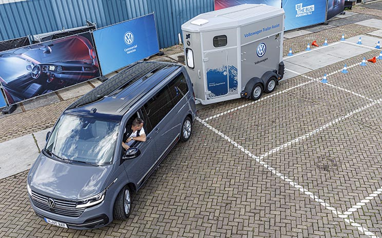 Transporter con Trailer Assist