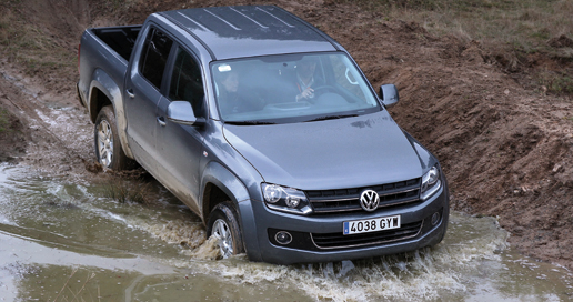 Volkswagen pick-up Amarok 4Motion comerciales 4X4
