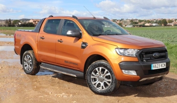 Contacto Ford Ranger Wildtrack