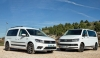 Comparativa Volkswagen Caddy Maxi Outdoor 2.0 TDI DSG / Volkswagen Multivan Outdoor 2.0 TDI DSG 4MOTION